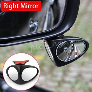 Dual Blind Spot Mirror Wide Angle For Car Right Rearview Adjustable