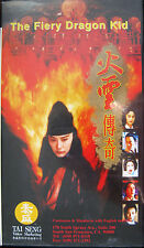 The Fiery Dragon Kid VHS Tape Movie in Case Chinese with English Subtitles 1994