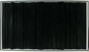 Max Gerhard Konkrete Kunst Komposition aus schwarzen Stufen Holz signiert