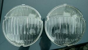 1950 51 52 Cadillac OEM NOS Guide Fog Light Lenses 5939152 Guide A-50 Pair of 2