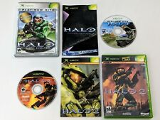 Halo 1 & 2 Combat Evolved Complete Games for Xbox System *TESTED & WORKS GREAT*