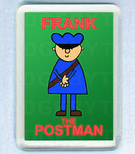 BOD's FRANK THE POSTMAN SMALL FRIDGE MAGNET - RETRO COOL!