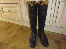 De Niro Ottaviano Ostrich Top Long Riding Boots brown size EU 39 UK 6