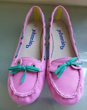 Boden Johnnie B Ladies Girls Shoes 4 37 Pink Loafers Summer BNWOT New Casual