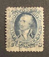 US Scott #72 Used Stamp Cat $800 - Stunning!