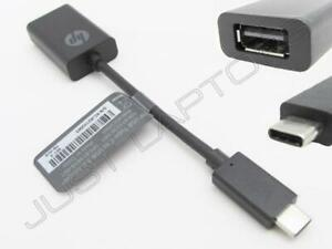 New Retail Genuine HP USB-C to USB 3.0 Adapter Converter 814618-001 N2Z63AA#AC3