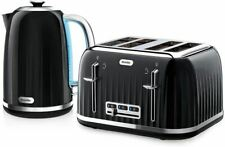 Breville VKJ755 Impressions Fast Boil Illuminated Kettle VTT476 4 Slice Toaster