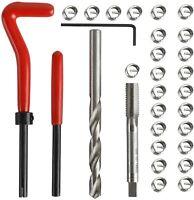 30Pcs/set M8 x 1.25MM Helicoil Restoring Thread Car Wire Insert Repair Tool Kit