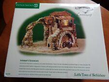 Dept 56 Little Town of Bethlehem Nativity Innkeeper's Caravansary 56.59795