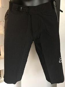 Fox Flexair No Liner Shorts MTB Black Without Inner Trouser Lining & Padding