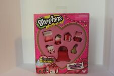 Shopkins Sweet Heart Valentines Collection 6 Exclusives Brand New In Box