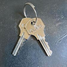 2 Kennedy Tool Box Replacement Keys Cut Key Code K1200 K1449 Free Tracking