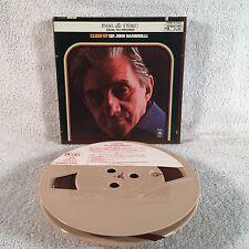 "SIR JOHN BARBIROLLI ""Close Up"" ANGEL Y2S 3750 3-3/4 IPS Reel To Reel Tape EH"