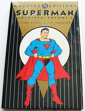 SUPERMAN Archive Edition #2 Mint SEALED! ~ HC Graphic Novel - Siegel & Shuster