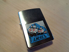 ZIPPO LIGHTER AMERICA 1492-1992  VINTAGE YEAR   1991-1992 NEW 10AM1