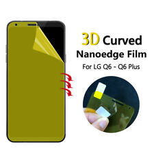 1x DOT.™ TPU FULL EDGE COVERAGE Screen Protector Cover For LG Q6 Plus