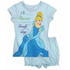 DISNEY pyjacourt pyjashort pyjama CENDRILLON bleu taille 2 ans neuf