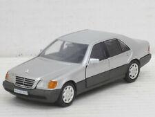 Mercedes-Benz 300/400/500/600 SE/SEL in Silver, cursor, without original box, 1:43