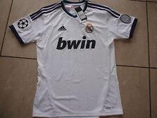 Adidas neu Trikot Real Madrid UCL Größe 176 cm weiß Wunschflock möglich