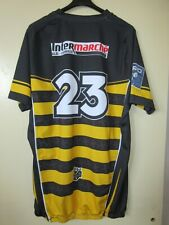 Maillot rugby S.C ALBI porté n°23 ELDERA PRO D2 match worn shirt moulant 4XL