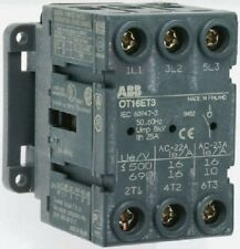 ABB NON FUSED SWITCH DISCONNECTOR 3-Poles 25A 9kW 0.5kA 3-Phase Panel Mount