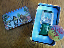 Wizard Of Oz Collector Wrist Watch In Tin Basket - Dorothy & Friends - New