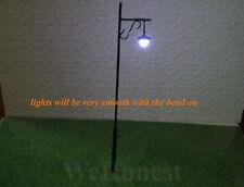 8 pcs O gauge Long Life Lampposts LEDs Made, Cold Lights, Safer, not hot #R34