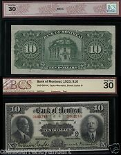 1923 Bank of Montreal $10