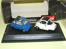 BMW ISETTA Bleu & Blanc , capoté & décapoté SCHUCO
