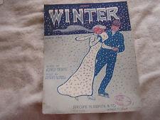 Winter March Song Alfred Bryans Edgar Keller Cover 1910