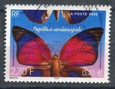 FRANCE TIMBRE OBL N° 3332 PAPILLON SARDANAPALE