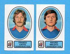PANINI CALCIATORI 1977/78 - Figurina n.495- CATTO+MELOTTI-SAMBENEDETTESE-Rec