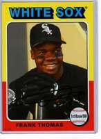 Frank Thomas 2019 Topps Archives 5x7 #149 /49 White Sox