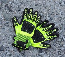 SET THL-Handschuhe NEON (Technische Hilfeleistung Rettung Feuerwehrhandschuhe)