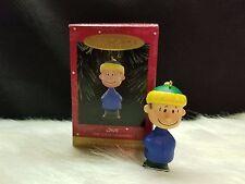 "1995 Hallmark Keepsake Ornament ""Linus"" A Charlie Brown Christmas (NIB)"