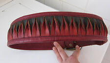 Vintage Genuine Leather Handcrafted Gypsy Festival Belt - Small Size