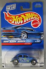 Hot Wheels 1:64 Scale 1999 Surf 'n Fun Series VW BUG (BLUE)