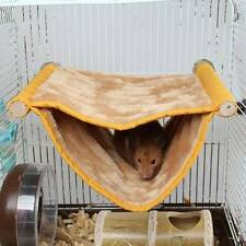 Pet Rat Hamster Guinea Pig Ferret Squirrel Hammock Toy Hanging House Bed Wa