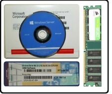 Factory Sealed Windows Server 2012 R2 Standard 64Bit 2xCPU COA&DVD Builders New