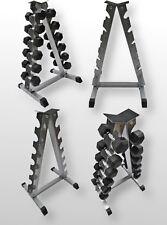 Bodyrip Forma de 'a' Pesa Peso Estante Almacenaje Soporte pro Style Cromo Gym