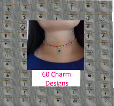 Handmade Holiday Choker Costume Necklaces & Pendants