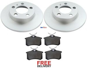 Ibiza 02-08 Tdi 130 Front /& Rear Drilled Discs /& Pads