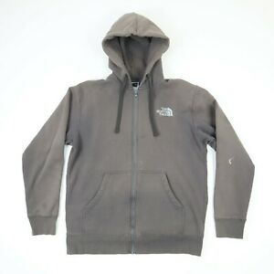 Destroyed Sun Faded North Face Sweatshirt Hoodie Jacket L Grunge Distressed Gray