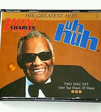 Ray Charles 41 OF His Greatest Hits 2  CD  Uh Huh rare ! DCC COMPACT DISC SET
