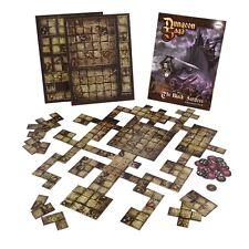 Mantic games neuf dungeon saga: the black forteresse tile pack MGDS 26