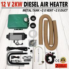 Air Heater (diesel) PLANAR 2 kW 12v + thru hull similar to Eberspaecher, Webasto