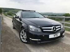 * 2014 MERCEDES BENZ C250 CDI AMG SPORT EDITION / DIESEL COUPE / PAN-ROOF *