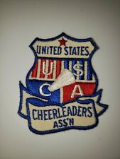 Usca United States Cheerleaders Association Cheerleading Embroidered Patch