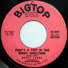 DOTTY CLARK 45 That's A Step In The Right Direction / It's Been A TEEN Pop w2984