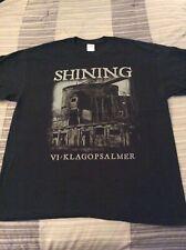 SHINING VI Klagopsalmer Shirt XL, Lifelover,Alcest, Drudkh,Hypomanie,Inquisition